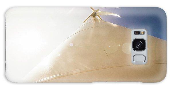 Wind Power Galaxy Case - Sunlit Wind Power by Jorgo Photography - Wall Art Gallery