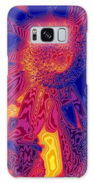 Sunny And Wild Galaxy Case by Stephen Anderson