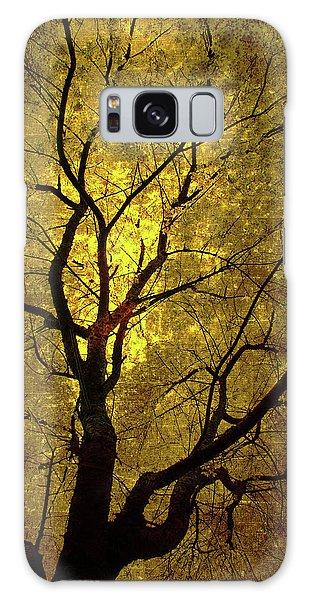 Sunny Branches Galaxy Case by Gray  Artus