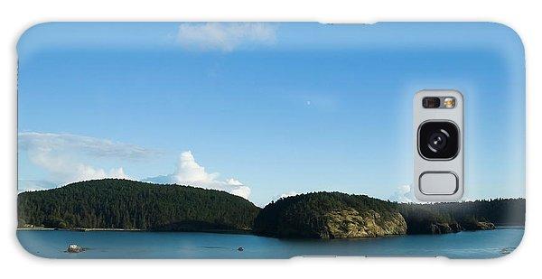 Galaxy Case featuring the photograph Sunny Day At Bowman Bay Park by Yulia Kazansky