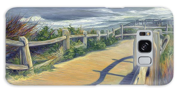 Scenery Galaxy Case - Sunny Day by Lucie Bilodeau