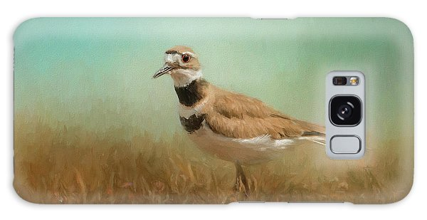 Killdeer Galaxy Case - Sunny Day Stroll by Jai Johnson