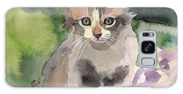 Calico Cat Galaxy Case - Sunny Day by Yuliya Podlinnova