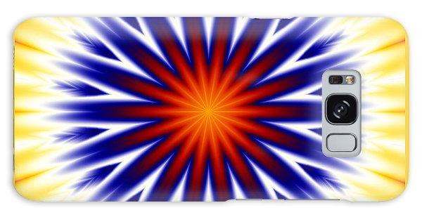 Sunny Fractal Tie Dye Galaxy Case