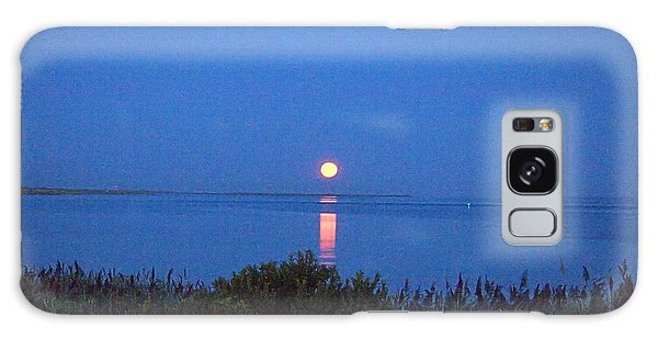 Sunny Moonset Galaxy Case