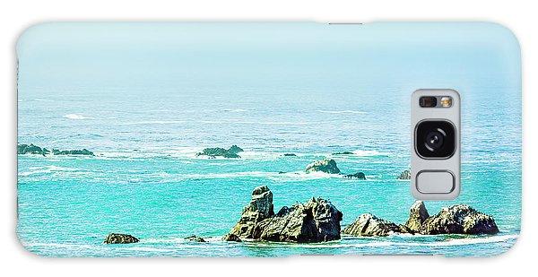 Sunny Pacific Ocean Oregon Coast Galaxy Case