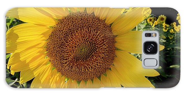 Galaxy Case featuring the photograph Sunny Side Up by Chris Scroggins