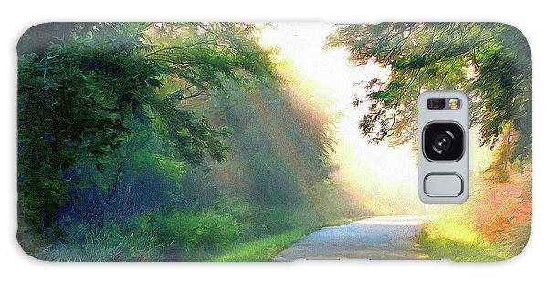 Sunny Trail Galaxy Case by Cedric Hampton