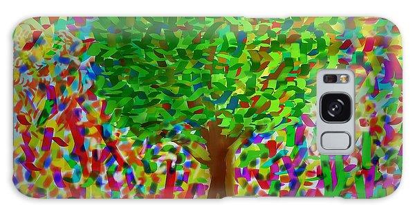 Sunny Tree Galaxy Case