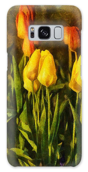 Sunny Tulips Galaxy Case