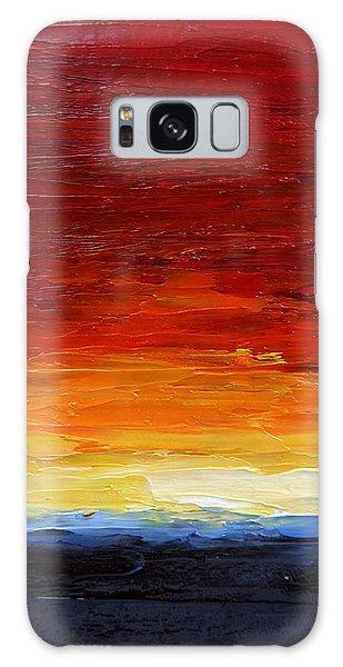 Sunrise #22 Galaxy Case