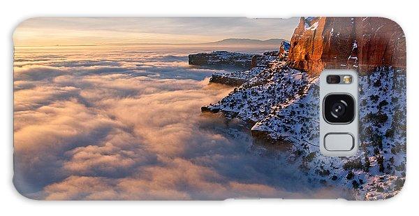 Islands In The Sky Galaxy Case - Sunrise Above The Clouds by Dan Norris