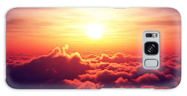 Cloud Galaxy Case - Sunrise Above The Clouds by Johan Swanepoel