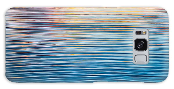 Sunrise Abstract On Calm Waters Galaxy Case by Parker Cunningham