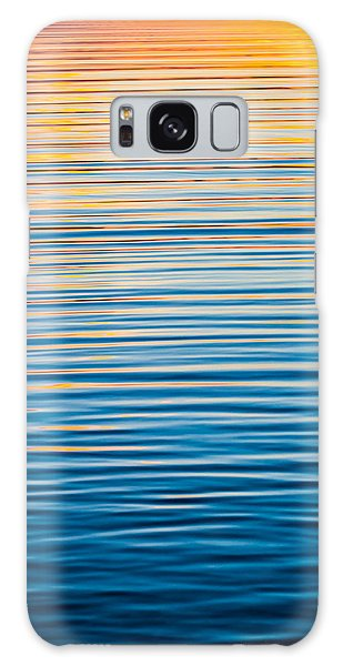 Sunrise Abstract  Galaxy Case by Parker Cunningham