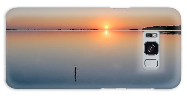 Sunrise Along The Pinellas Bayway Galaxy Case by Craig Szymanski