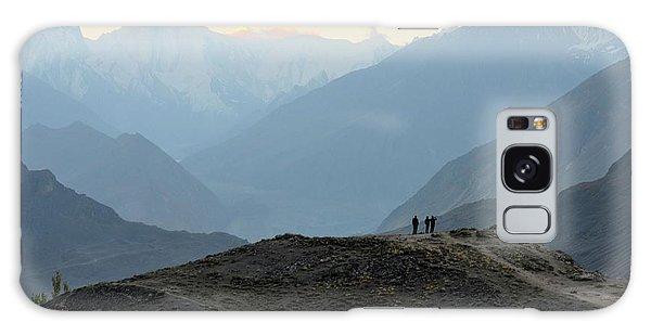 Sunrise Among The Karakoram Mountains In Hunza Valley Pakistan Galaxy Case