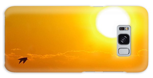 Sunrise And Bird Galaxy Case