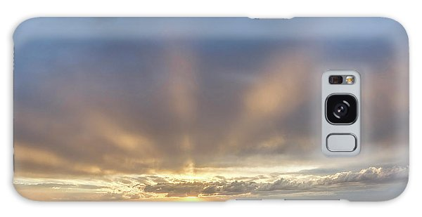 Sunrise And Wheat 03 Galaxy Case