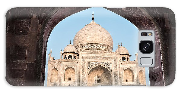 Sunrise Arches Of The Taj Mahal Galaxy Case