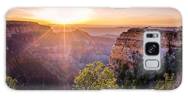 Sunrise At Angel's Window Grand Canyon Galaxy Case