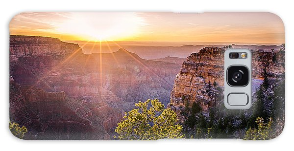 Sunrise At Angel's Window Grand Canyon Galaxy Case