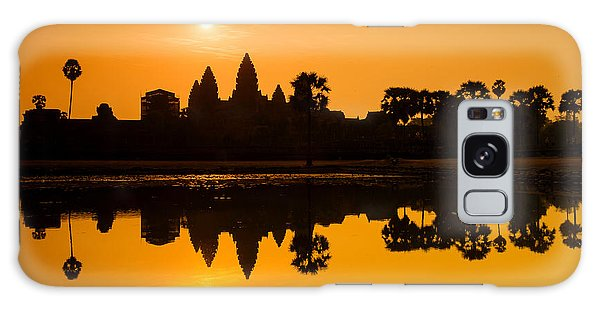 Sunrise At Angkor Wat Galaxy Case