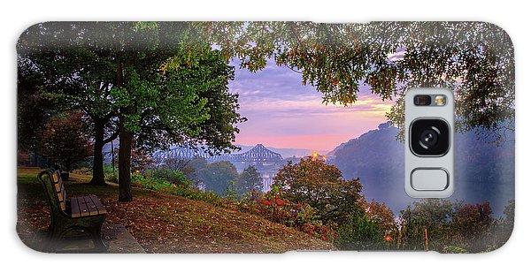 Sunrise At River Rd  Galaxy Case