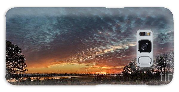 Sunrise At Biddeford Pool,maine Galaxy Case by David Bishop