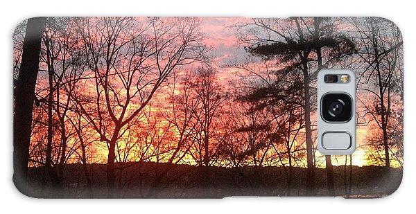 Sunrise At Carolina Trace Galaxy Case