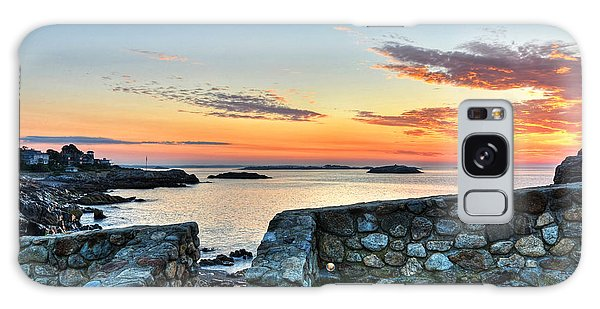 Sunrise At Castle Rock Marblehead Ma Galaxy Case