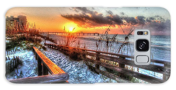 Sunrise At Cotton Bayou  Galaxy Case