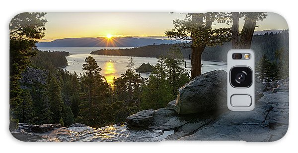 Sunrise At Emerald Bay In Lake Tahoe Galaxy Case