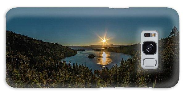 Sunrise At Emerald Bay Galaxy Case