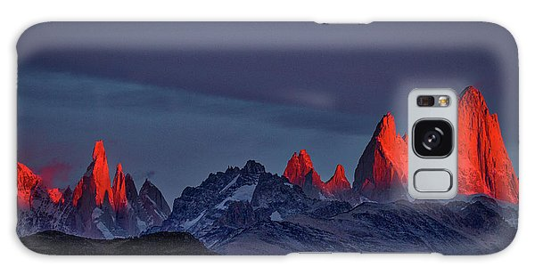 Sunrise At Fitz Roy #2 - Patagonia Galaxy Case
