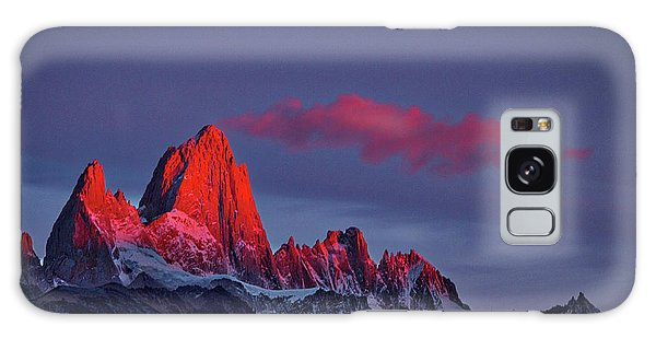 Sunrise At Fitz Roy #3 - Patagonia Galaxy Case