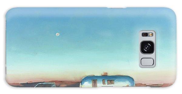 Sunrise At Gooseneck Canyon. Galaxy Case