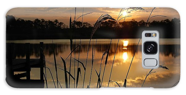 Sunrise At Grayton Beach Galaxy Case by Robert Meanor