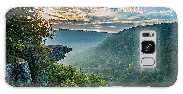 Sunrise At Hawksbill Crag Galaxy Case