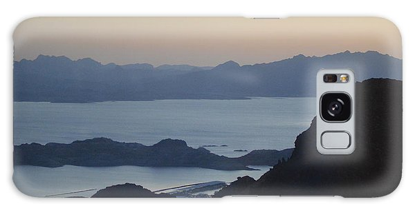 Sunrise At Hoover Dam Galaxy Case