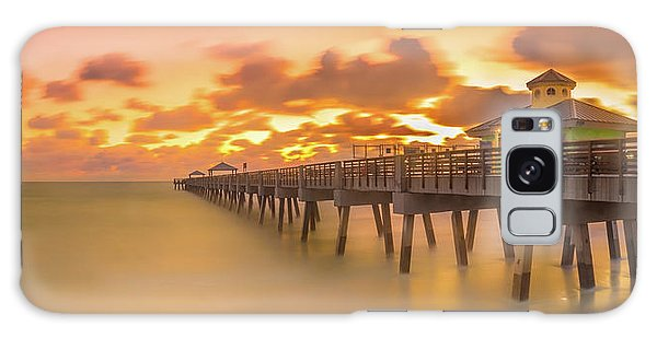 Sunrise At Juno Beach Galaxy Case