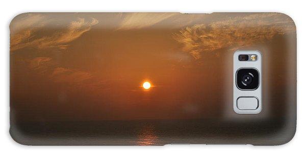Sunrise At Kanniyakumari India Galaxy Case