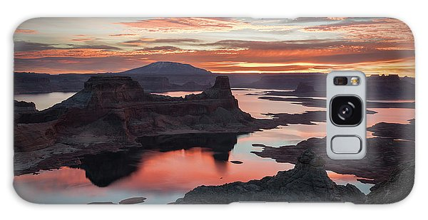 Sunrise At Lake Powell Galaxy Case