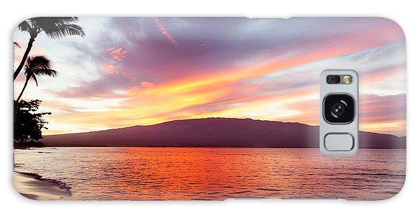 Sunrise At Ma'alaea Maui Galaxy Case