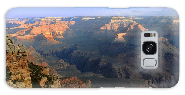 Sunrise At Mather Point  --  Grand Canyon  Galaxy Case