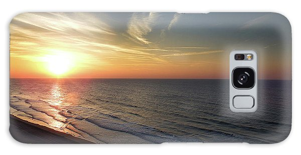Sunrise At North  Myrtle Beach Galaxy Case