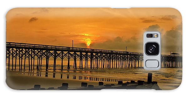 Sunrise At Pawleys Island Galaxy Case by Bill Barber