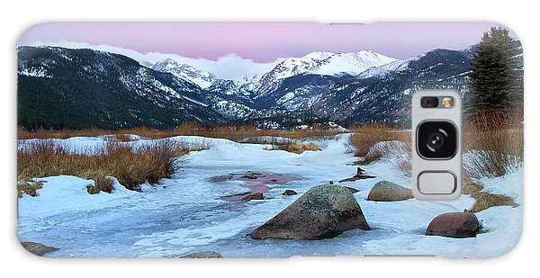 Sunrise At Rocky Mountain National Park Galaxy Case