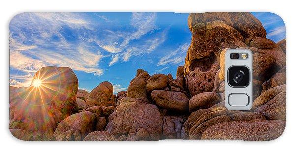 Sunrise At Skull Rock Galaxy Case