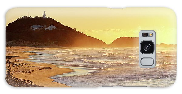 Sunrise At Sugarloaf Point Galaxy Case